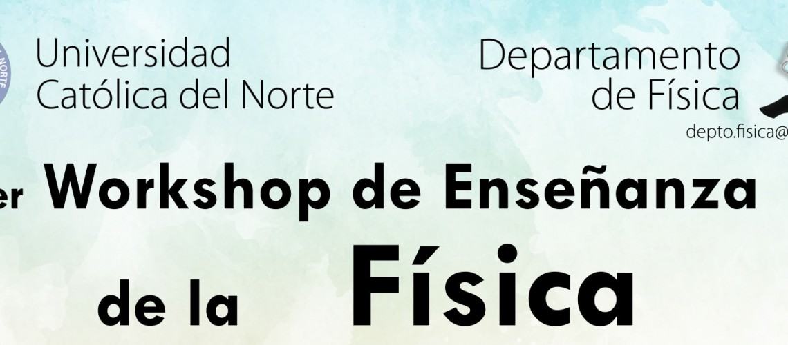 Banner-Afiche-Workshop-Enseñanza-Fisica